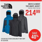 c33714d33 Sport Chek: The North Face Men's Clement Triclimate Jacket ...