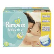 Pampers or Huggies Club Size Plus Diapers  - $32.75