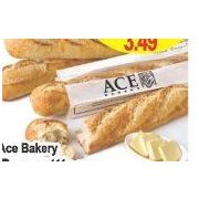 Ace Bakery Baguetttes Or Lunga Cluster - $2.99