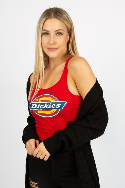 1a9bbd56926cf Bluenotes Womens Dickies Logo Racerback Tank -  8.99 ( 6.00 Off) Womens  Dickies Logo Racerback Tank