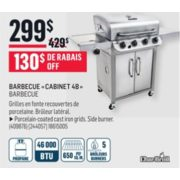 "CharBroil ""Cabinet 4B"" Barbecue - $299.00 (Save $130.00)"