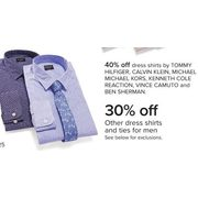 Other Dress Shirts And Ties For Men - 30% off