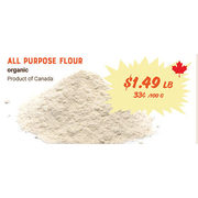 All Purpose Flour - $1.49/lb