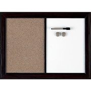Quartet Espresso Boards-Dry Erase Combo Board - $40.79 (20% off)