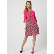 Dot Print Dress & Bell Sleeve Bolero - $79.99 ($68.01 Off)