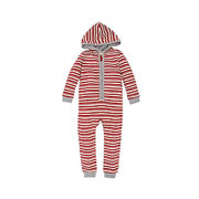 Burt's Bees Baby® Peppermint Stripe Coverall In Red - $18.89 - $23.09