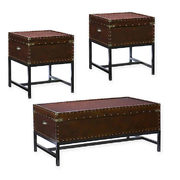 Southern Enterprises Voyager 3-piece Trunk Table Collection In Espresso - $1,178.09 ($207.90 Off)