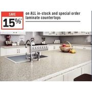All In-Stock And Special Order Laminate Counter Tops - 15% off