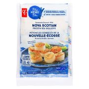 PC Blue Menu Nova Scotian Sea Scallops or PC Shrimp Platter, Cooked with Sauce - $14.99