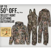 Red Head Brand Co Hunt Clothing Outerwear - Up to 50% off