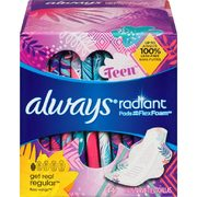 Always Pads, Liners Or Tampax Tampons - $4.48