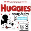 Huggies Snug & Dry, Little Movers Or Little Snugglers Mega Colossal Diapers - $27.97