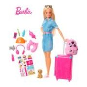 Barbie Travel Doll - $19.99 (20% off)