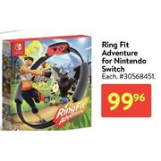 Ring Fit Adventure For Nintendo Switch - $99.96