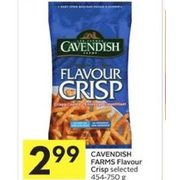 Cavendish Farms Flavour Crisp  - $2.99