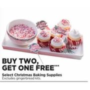 Christmas Baking Supplies  - Buy Two, Get One Free