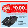 Cubii Jr. Under Desk Elliptical - $299.99